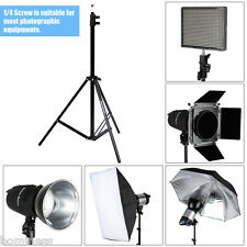 Excelvan 2.1M Light Stand Photo Video Studio Lighting Photography Flash Tripod