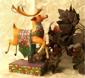 Christmas Magic, Reindeer with Blue Swirls, Heartwoodcreek by Jim Shore 4005322