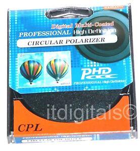 86mm CPL Circular Polarizer Polarizing Lens Filter C-PL Multi-Coated Optical