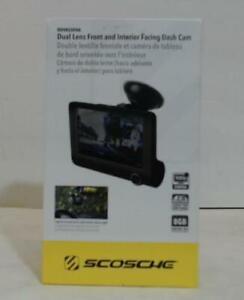 Scosche DDVR2XFHD Dual Lens Front & Interior Facing Dash Cam $122