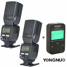 2PCS Yongnuo YN685 Wireless Flash Speedlite + YN-622N TX Controller for Nikon UK