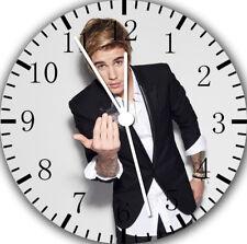 Justin Bieber Frameless Borderless Wall Clock For Gifts or Home Decor E318