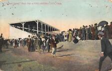 GRAND STAND STATE FAIR OKLAHOMA CITY OKLAHOMA POSTCARD 1912