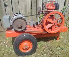 Vintage Devilbiss Air Compressor Model 220 Working Condition Circa 1930s