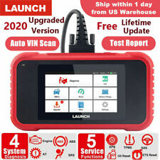 LAUNCH OBD2 Scanner CRP129E Check Engine ABS SRS Transmission System Oil Reset