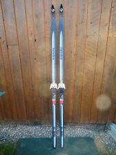 """GREAT Cross Country Skis 73"""" Long TUNDRA 190 cm Skis READY TO USE"""