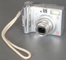 Canon Powershot A550 7.1MP Digital Point &  Shoot Compact Camera - Tested!