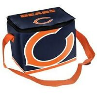 Chicago Bears Insulated soft side Lunch Bag Cooler New - BIg Logo