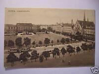 Ansichtskarte Leipzig Augustusplatz Straßenbahn