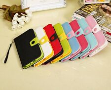 PU Leather Case Cover Stand  for Samsung Mega 5.8 inch