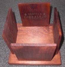 NEW Tequila Corralejo Wood Napkin Holder NIP