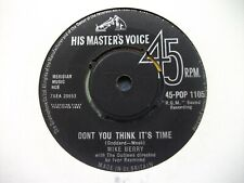 """MIKE BERRY - Don't You Think It's Time / Loneliness [ 45 VINYL 7""""] RECORD 1960s"""
