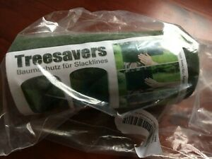 NEW Treesavers for SLACKLINES fabric to tie round tree to preserve & safety