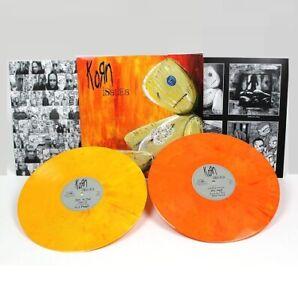 KORN - ISSUES - 2 LP MOV Yellow/Red 180gram VINYL NEW Embossed #543/1500 ALBUM