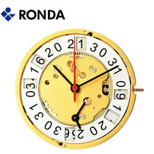 Harley Ronda 5010.B Quartz Watch Movement 10 Jewels, 3 Hands, Date 12 Swiss Made