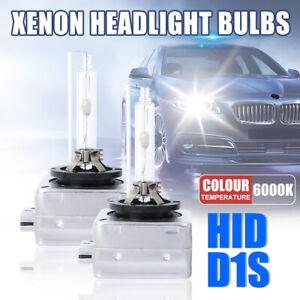 2PCS NEW OEM D1S XENON HID HEADLIGHT BULBS 6000K 85415 85410 66144 66140