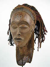 GothamGallery Fine African Art - DRC / Zaire Chokwe PWO Tribal Mask H