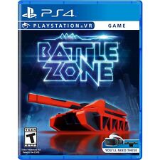 PS4 Battlezone Battle Zone VR Virtual Reality NEW Sealed REgion Free USA