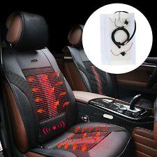 2 Seats 4 Pads Universal 1-Dial 5-Level Switch Seat Heater Kit Heated Seat Kit