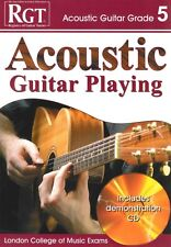 RGT ACOUSTIC GUITAR PLAYING Grade 5 Book/CD LCM*