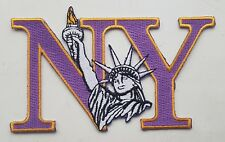 NEW YORK STATUE OF LIBERTY PATCH Badge NY Letters United States of America USA