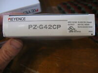 NEW Keyence Photo sensor Photoelectric Fiber Optic / PZ-G Series / #- PZ-G42CP