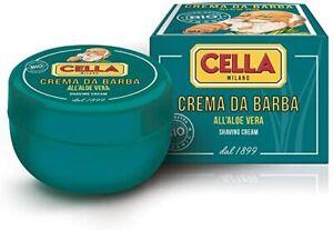 Crema Da Barba BIO organic Aloe Vera Shaving Cream 150ml