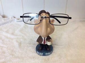 Novelty Specs/Glasses Holder Nan, Mum, Dad, Grandad Nose Stand Gift