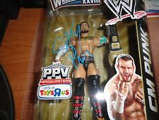 CM Punk SIGNED/PSA WWE Elite Mattel Figure BAF  Wrestlemania XXVIII MIP