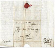 Hungary 1749 complete diplomatic entire to Johan Kondorosi at Tokay dc