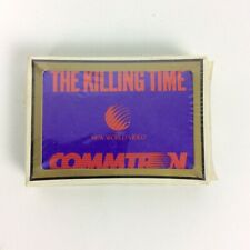 The Killing Time Movie Playing Cards 80s New World Video Release Promo Commtron
