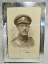 World War One Canadian Army Major Framed Photograph