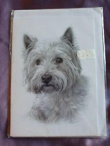 Westie greetings card dog card dogs westies birthday card west highland terrier