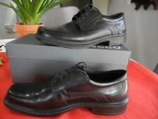 Ecco Atlanta Lace Up Men's Shoe Size 42(8-8/5) Black Leather Dress Shoes