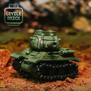 ⎡LEYILE BRICK⎦ Pre-order Custom Molded T-34 Tank Figure