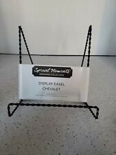 Special Moments Small Metal Display Easel Black Tone