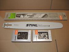 """6817 Original Stihl Schiene Schwert  18""""  45 cm  1,6 325"""" + 2x RS Kette TYP1"""