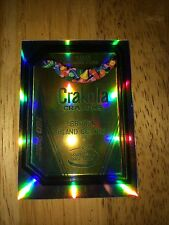 2014 WACKY PACKAGES CHROME REFRACTOR CARD CRAKOLA CRAYONS 80 CRAYOLA FACTORY USA