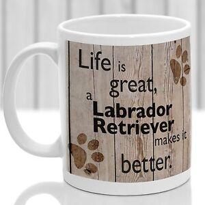 Labrador Retriever dog mug, Labrador dog gift, ideal present for dog lover