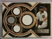 2018 Topps Museum Collection Primary Pieces MICHAEL FULMER Quad Jersey 2/75