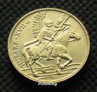 COIN OF POLAND - HISTORY OF POLISH CAVALRY XVII CENTURY WINGED CAVALRYMAN (MINT)