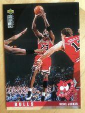 MICHAEL JORDAN 1995-96 UD Collector's Choice Scouting Report #324 Bulls