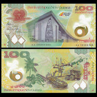 Papua New Guinea 100 Kina, 2018, P-100New, Polymer, COMM. Banknotes, UNC
