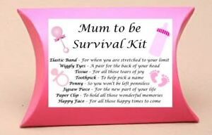 Baby Shower Gift Mum to Be **CONTENTS INCLUDED** New Mum Survival Kit Gift Box