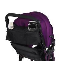 Portable Baby Stroller Hanging Basket Organizer Diaper Bottle Holder Storage Bag