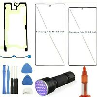 Samsung Galaxy Note10+ Front Screen Glass Lens Replacement Kit Outer Glass