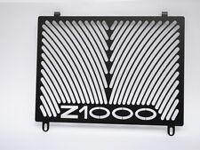 Kawasaki Z 1000 año 03-06 radiador cubierta Black 5158