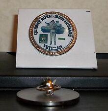 HM Armed Forces Queen's Royal Irish Hussars Veteran lapel pin badge .