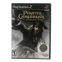 Pirates of the Caribbean: At World's End (Sony PlayStation 2, 2007) Complete CIB