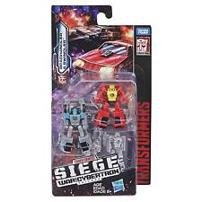 (P) TRANSFORMERS GENERATIONS SIEGE WAR OF CYBERTRON MICRO MASTER RACE CAR PATROL